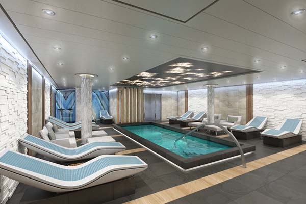 Carnival Cruise Line - Spa Thermal Suites