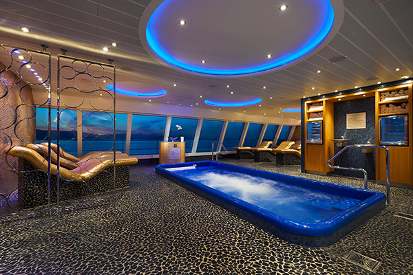 Carnival Cruise Line - Cloud 9 Thermal Suite