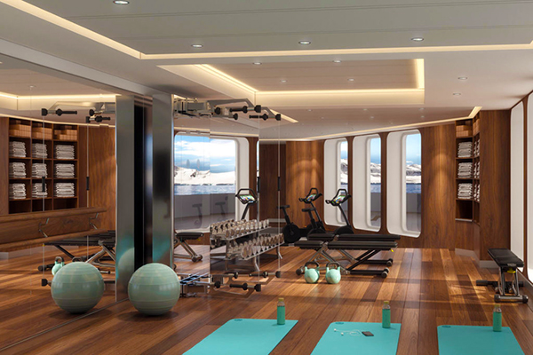 Crystal Cruises - Fitness Center