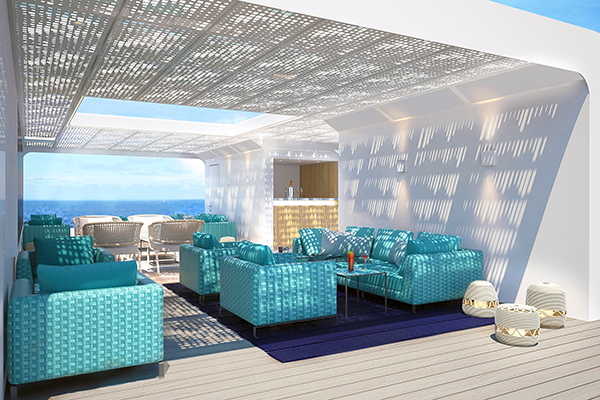 Crystal Cruises - Open Deck