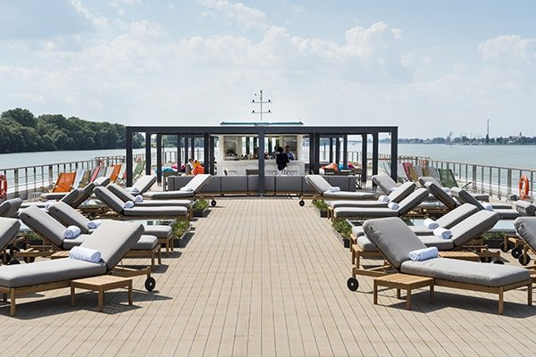 Crystal River Cruises - Top Deck