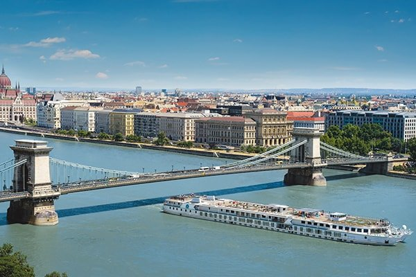 Crystal River Cruises - In Budapest