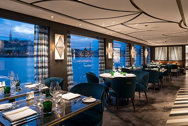 Crystal River Cruises - Dining Room