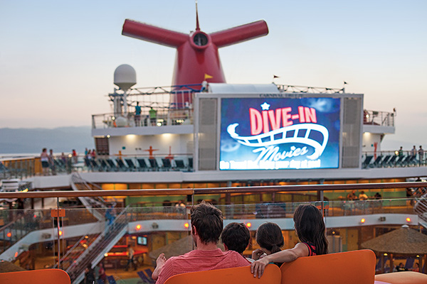 Carnival Cruise Line - Dive In Theater
