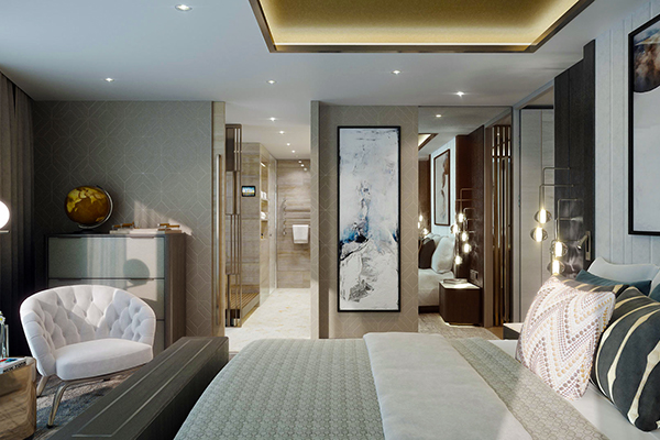 Crystal Cruises - Penthouse Suite