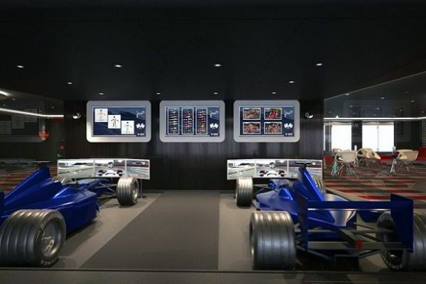 MSC Cruises - F1 Race Simulator