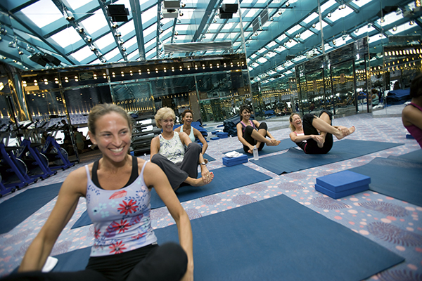Carnival Cruise Line - Fitness Classes