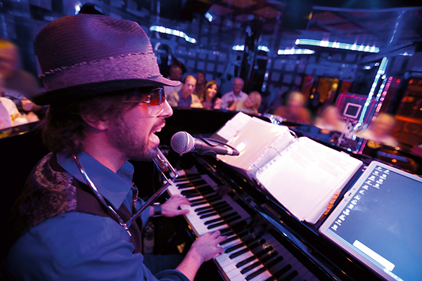 Carnival Cruise Line - Piano Bar Live Music