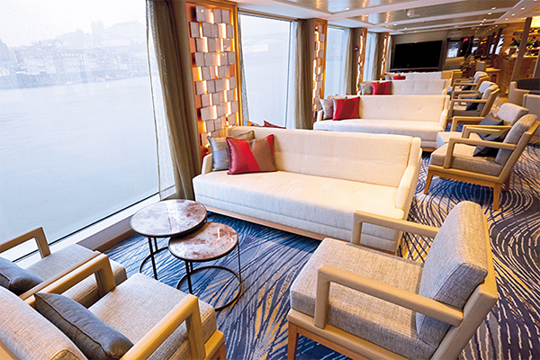 Viking River Cruises - Observation Lounge