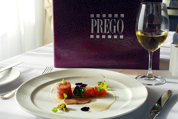 Crystal Cruises - Prego Restaurant