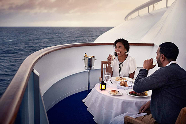 Princess Cruises - Private Balcony Dining