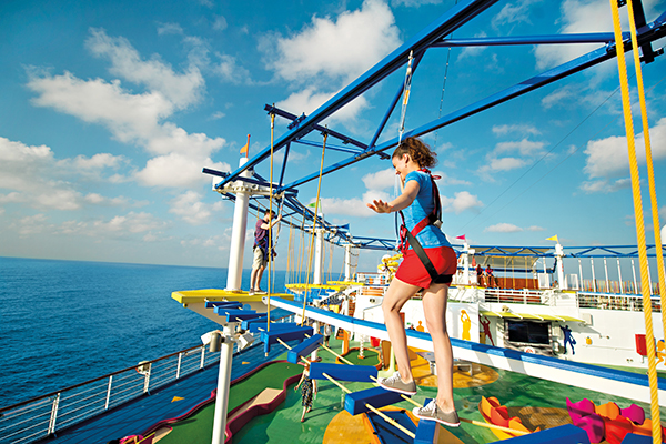 Carnival Cruise Line - Sky Course