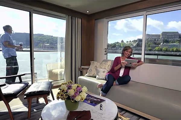 Viking River Cruises - Suite View