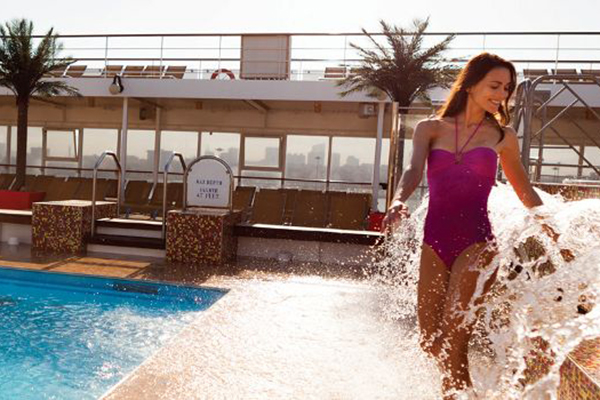 Costa Cruises - Sun Deck Pools