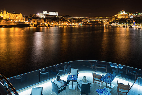 Viking River Cruises - On Deck Night Lounge