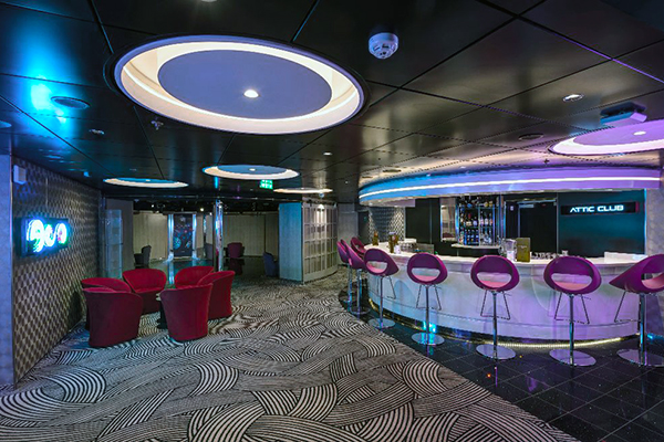 MSC Cruises - Attic Club