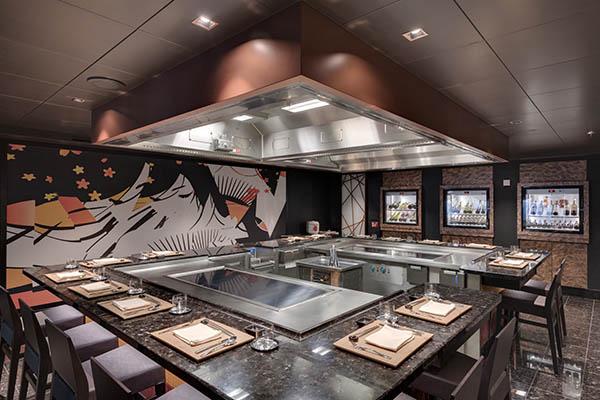 Teppanyaki restaurant by Roy Yamaguchi
