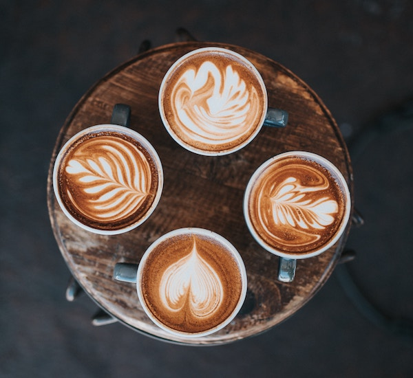 Four lattes