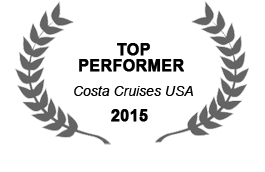 Costa Cruises Top Performer 2015