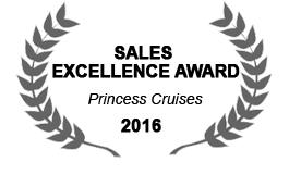 Princess Cruise Line Sales Excellence Award 2016