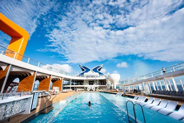 Celebrity Cruises - Pool Deck