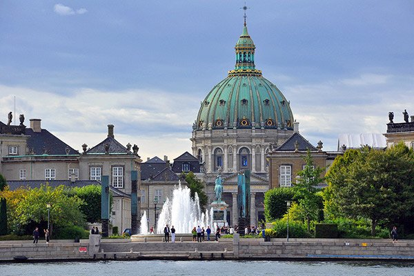 Amalienborg and Marble Church