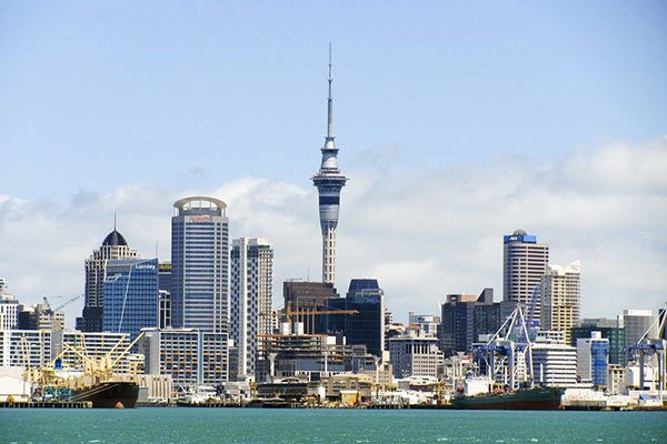 The Sky Tower, New Zealand