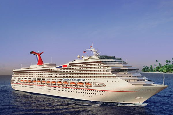 Carnival Conquest Cruise Ship Deals From CruiseDirectcom - How old are carnival cruise ships