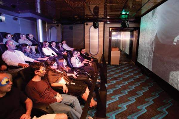 Cinema Etoiles 4D Movie Theater