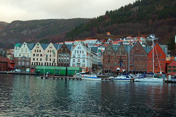 Harbour Bergen Norway