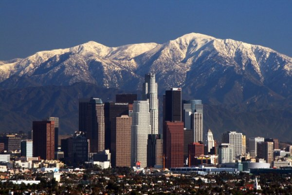 LA Skyline Mountains