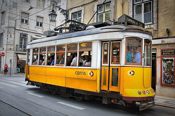 Lisbon Electric Train