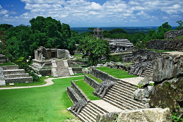 Palenque Ruins in Mexico