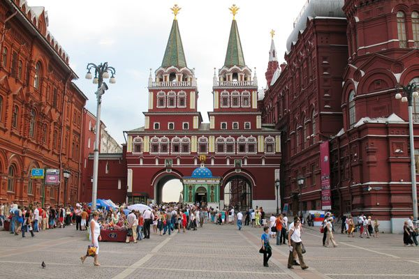 Moscow Entrance of Red Square