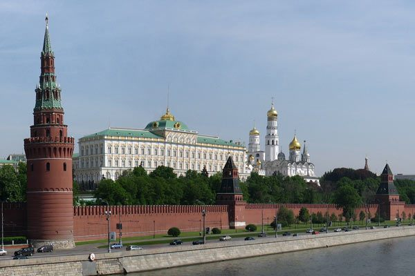 Moscow Kremlin from Kamenny Bridge