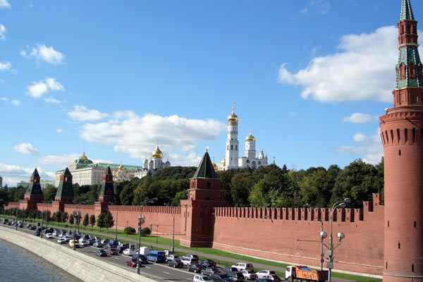 Moscow Kremlin from the Moscow River