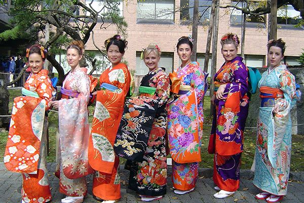National Costumes of Japan