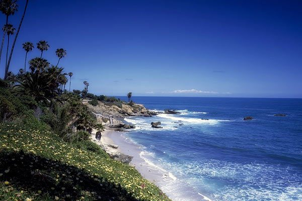 Pacific Coast in California