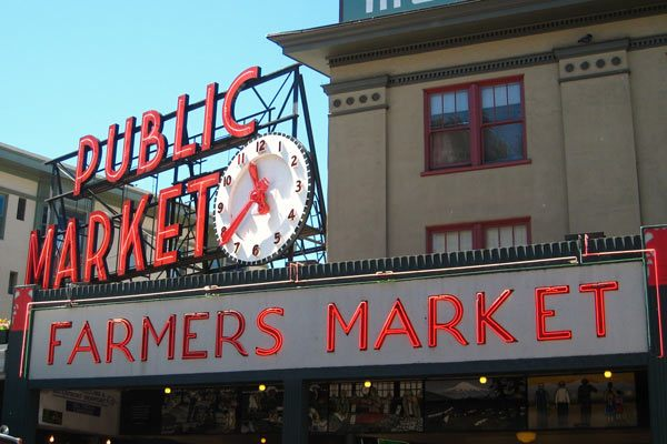 Pike Place Market Clock