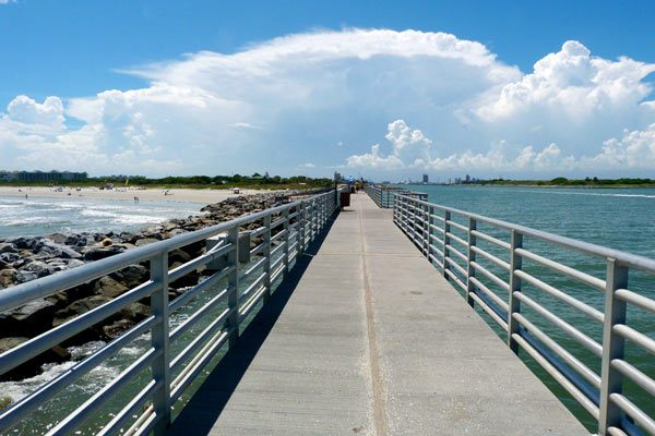 Port Canaveral Jetty park