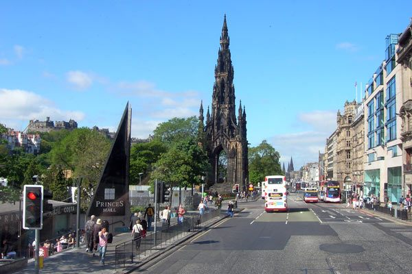 Princess Street, Edinburgh