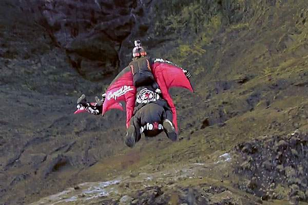 Wingsuit Flying in Reunion Island