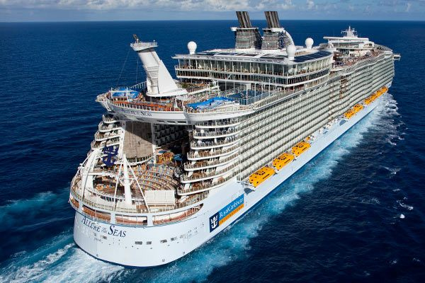 Allure Of The Seas Cruise Ship Deals From CruiseDirectcom - Royal caribbean cruise to nowhere