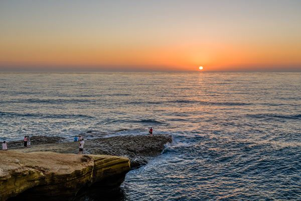 San Diego Sunset Cliffs