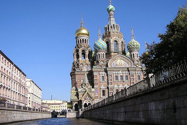 St Petersburg Spilled Blood