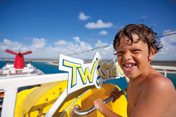 Twister Waterslide