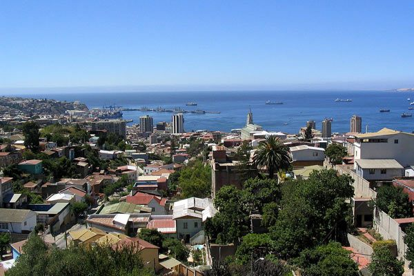 Valparaiso view from La Sebastiana