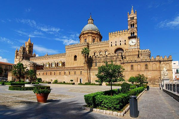 Palermo Cathedral in Palermo Italy