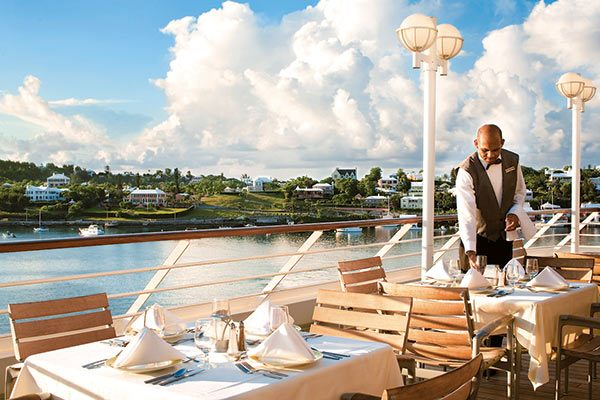 Azamara Cruises  - Dining On Deck