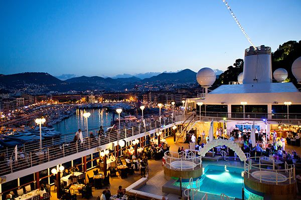Azamara Cruises - In Port
